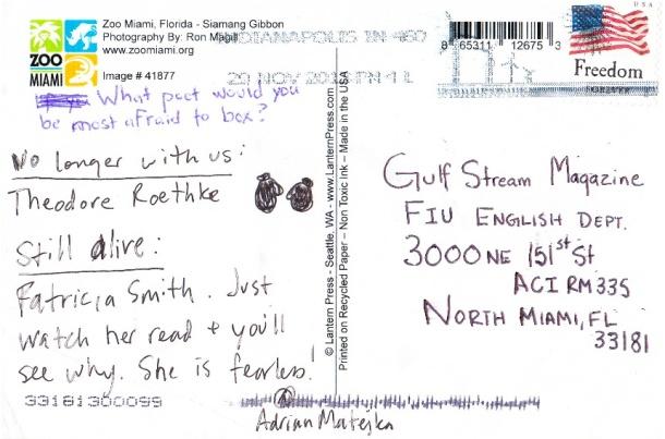 Matjeka Postcard pt2