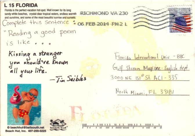Seibles Postcard