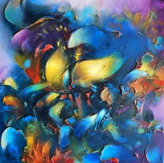 """""""Algo oculto en cada sensacion"""" by Vivian Calderon Bogoslavsky"""
