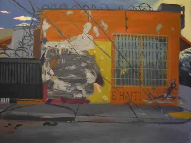 5825 NE 2nd Av. Miami, FL 33137 Acrylic on Canvas 28x36 2017