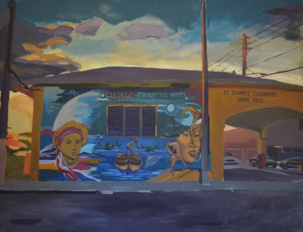 6200 N.E. 2nd Avenue Miami FL 33138 Acrylic on Canvas 50 x 65 2015