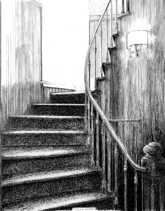 Staircase by Nicholas C Casciano
